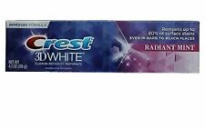 Crest 3D White Fluoride Anticavity Toothpaste, Radiant Mint, 4.1 oz
