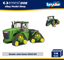 Bruder John Deere 9620RX Tractor con pistas 04055 escala 1:16 04055