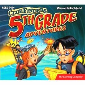 ClueFinders 5th Grade  Math Science Problem Solving Language Arts History  New
