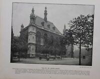 1896 LONDON PRINT + TEXT THE CITY OF LONDON SCHOOL