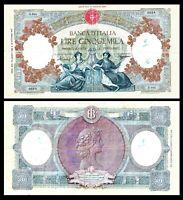 ITALY 1947 * Banca d'Italia * RARE Banknote 5000 LIRE MarinareF / VF