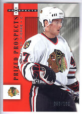 05/06 Fleer Hot Prospects Red Hot Rookie #117 Martin St. Pierre #050/100