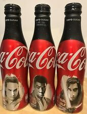 Coca Cola UK Star Wars 3 Limited Edition aluminium bottles, full and perfect.