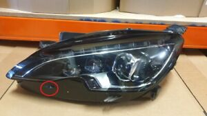 Peugeot 308 UK Spec RHD Headlamp Headlight FULL LED Left 98005464 Complete OEM