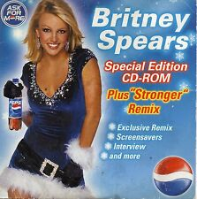 CD SINGLE Britney SPEARS	Stronger exclusive remix - Promo Pepsi CD ROM