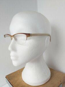 TOM DAVIES eyeglasses glasses frame - handmade couture - beige