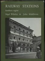 RAILWAY STATIONS  SOUTHERN REGION by WIKELEY. ARCHITECTURAL INTEREST