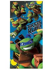 Tmnt Turtles Rule Ninja Turtles Beach Towel Velour 28x58