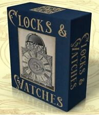 CLOCKS & WATCHES, 118 Rare Vintage Books on DVD, HOROLOGY, Clock Repair, History