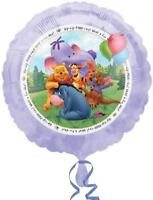 Winnie The Pooh Round Foil Mylar Balloon 1 Per Package Birthday Party Supplies