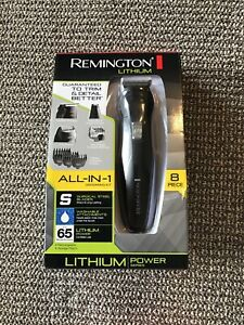 remington lithium all-in-one men's grooming kit
