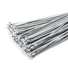 Kabelbinder Kabelband für Sichtschutz Zaunblende Zaun Netz 100 St. 300mmx3,6mm