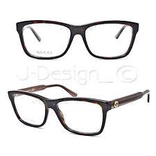 Gucci GG 3765 GX4 Dark Tortoise 53/15/140 Eyeglasses Rx - Made in Italy - New
