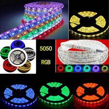 1-20M RGB 5050 SMD waterproof LED Strip Flexible Lamp / IR Remote /12V power