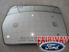 2011 2012 F150 Genuine Ford Right Pass Side Aerodynamic Mirror Glass w Heat NEW