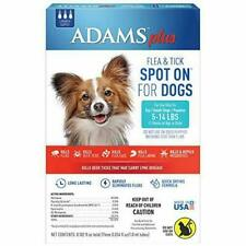 Adams Plus Fleas & Tick Spot On for Dogs Topical 3 month Small Dog 5 to 14 lbs
