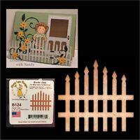 Garden Gate Metal Die Cheery Lynn Designs Cutting Dies B124 fence picket