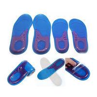 2x Homme Semelles Intérieures Gel Silicone Chaussures Sport Comfortably Cadeau