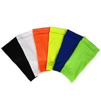 Für Kinder Erwachsene Sport Schienbeinschutz Socken Kalb Einsätze Knöchel #skk