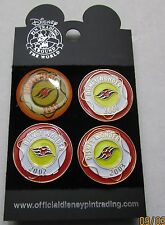 Disney DCL Disney Cruiseline Wonder Achievement 4 pin 2000-2003 Set