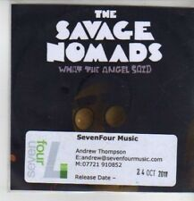 (CQ83) The Savage Nomads, What The Angel Said - 2011 DJ CD