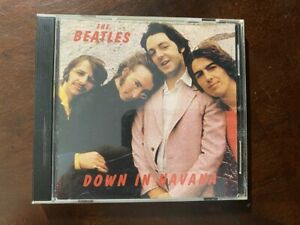 """IMPOSSIBLY RARE! BEATLES """"DOWN IN HAVANA"""" CD--UC 06810249.      10250"""
