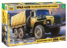 ZVEZDA 1:35 KIT CAMION RUSSIAN ARMY TRUCK URAL 4320  ART. 3654