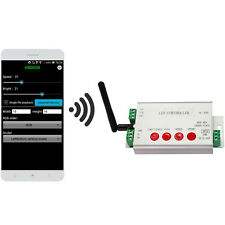 led wifi controller,1 port control 2048 pixels,DMX512 controller,support WS2812
