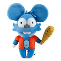THE SIMPSONS TREEHOUSE OF HORROR - ITCHY PHUNNY PLUSH CUDDLY TOY BY KIDROBOT