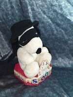 #10236 NRFB Vintage Irwin Snoopy & Friends Bandit Snoopy with Mask, Cape & Hat