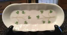 DONEGAL PARIAN CHINA SHAMROCK MINT TRAY MADE IN IRELAND