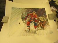 "Slap Shot"" Stanley Cup '78 by William Biddle Ltd Edition Lithograph, 83/950"