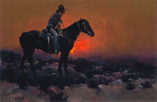 James Reynolds SWING SHIFT, Cowboy, Textured Canvas R@RE!!