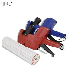 Red Plastic Store Supply Tool MX-5500 Price Label Gun Market 10 Roll Price Tags