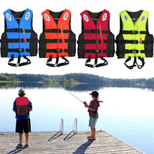 Adult Kids Life Jacket Safety Buoyancy Aid Sailing Swimming Fishing Boating Vest
