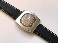 vintage automatic nivada day/date wristwatch mustang 73 edition oversized 🇨🇭