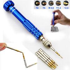 Magnetic 5in1 Pentalobe Screwdriver Repair Tool Set for iPhone 6s 4 5 Galaxy 6