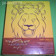 SAINT SEIYA CABALLEROS DEL ZODIACO SOUL OF GOLD BLU-RAY PACK NUEVO Y PRECINTADO