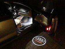 2 Luci di Cortesia Portiera Logo Emblema AUDI A1 A3 A4 A5 A6 A7 Q3 Q5 Q7 TT