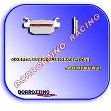COPPIA PASTIGLIE ORGANICHE EBS Piaggio Beverly Sport-250 cc-anni: 06-08 ANT-POS