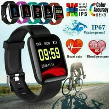Умные часы Bluetooth 4.2 пульса кислород кровяное давление Спорт Фитнес трекер ~