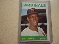 1964 TOPPS BOB GIBSON ST. LOUIS CARDINALS #460 NICE