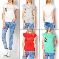 Camisa de mujer de manga corta talla M