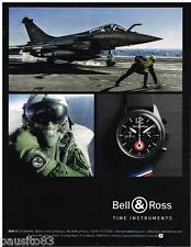 PUBLICITE ADVERTISING 0105  2014  BELL & ROSS  montre NEW BR 126 INSIGNA