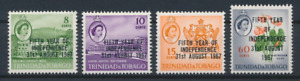 Trinidad and Tobago - 1967 - Sc 123 - 26 - 5Th Year of Independence VF MNH