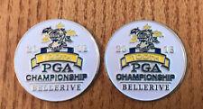 2-2018 PGA CHAMPIONSHIP GOLF ball markers Bellerive CC St Louis Brooks Keopka