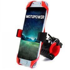 MOTOPOWER MP0616B Universal Bike Motorcycle Phone Mount Handlebar Cradle Holder