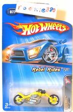 2005 Hot Wheels REBEL RIDES #77 ∞ BLAST LANE ∞ YELLOW SPORTSTER