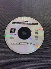 Disney Hercules- Jeu Playstation 1 PS1 - Pal FR - Uniquement Le CD