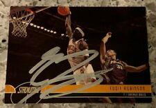 EDDIE ROBINSON HAND SIGNED 2001 TOPPS STADIUM CLUB BASKETBALL CARD #16